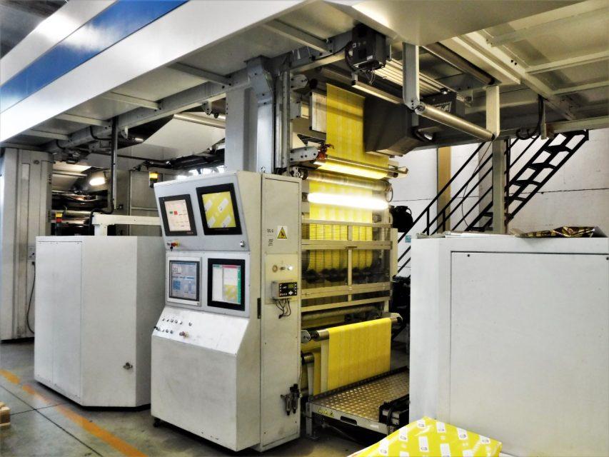 бу флексографическая печатная машина UTECO Onyx 810 GL